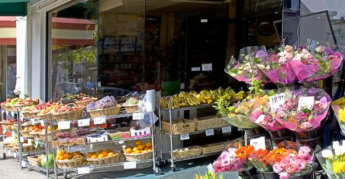 FLOWER AND FOOD MARKET