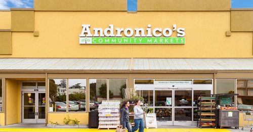 ANDRONICOS COMMUNITY MARKET MAIN ENTRANCE