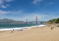 BAKER BEACH AND GOLDEN GATE