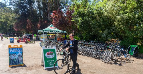 BIKE RENTAL IN GG PARK