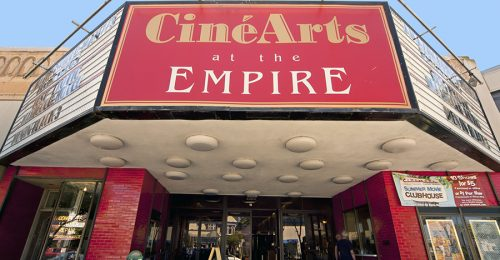 CINEARTS LOOKING UP