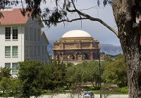 PALACE OF FINE ARTS FROM AFAR