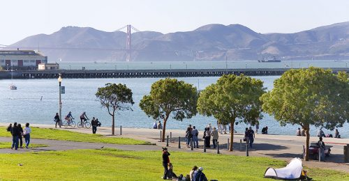 WATERFRONT AND GOLDEN GATE
